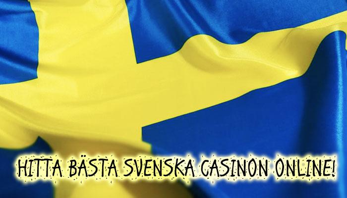 bästa svenska casinon online